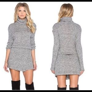 Free People Turtleneck Sweater Dress